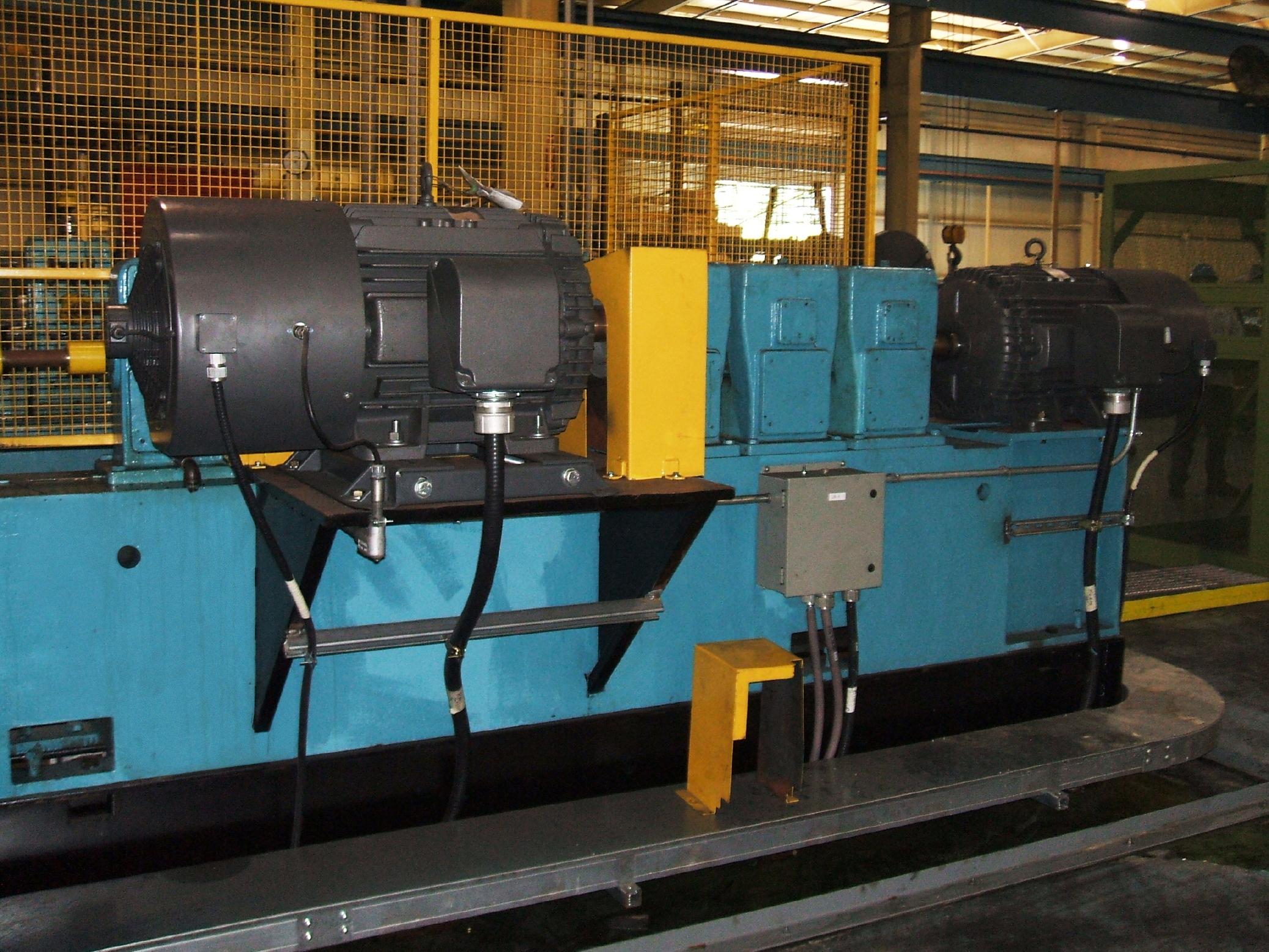 100 HP Ac Vector Motor Installation DSCF1148