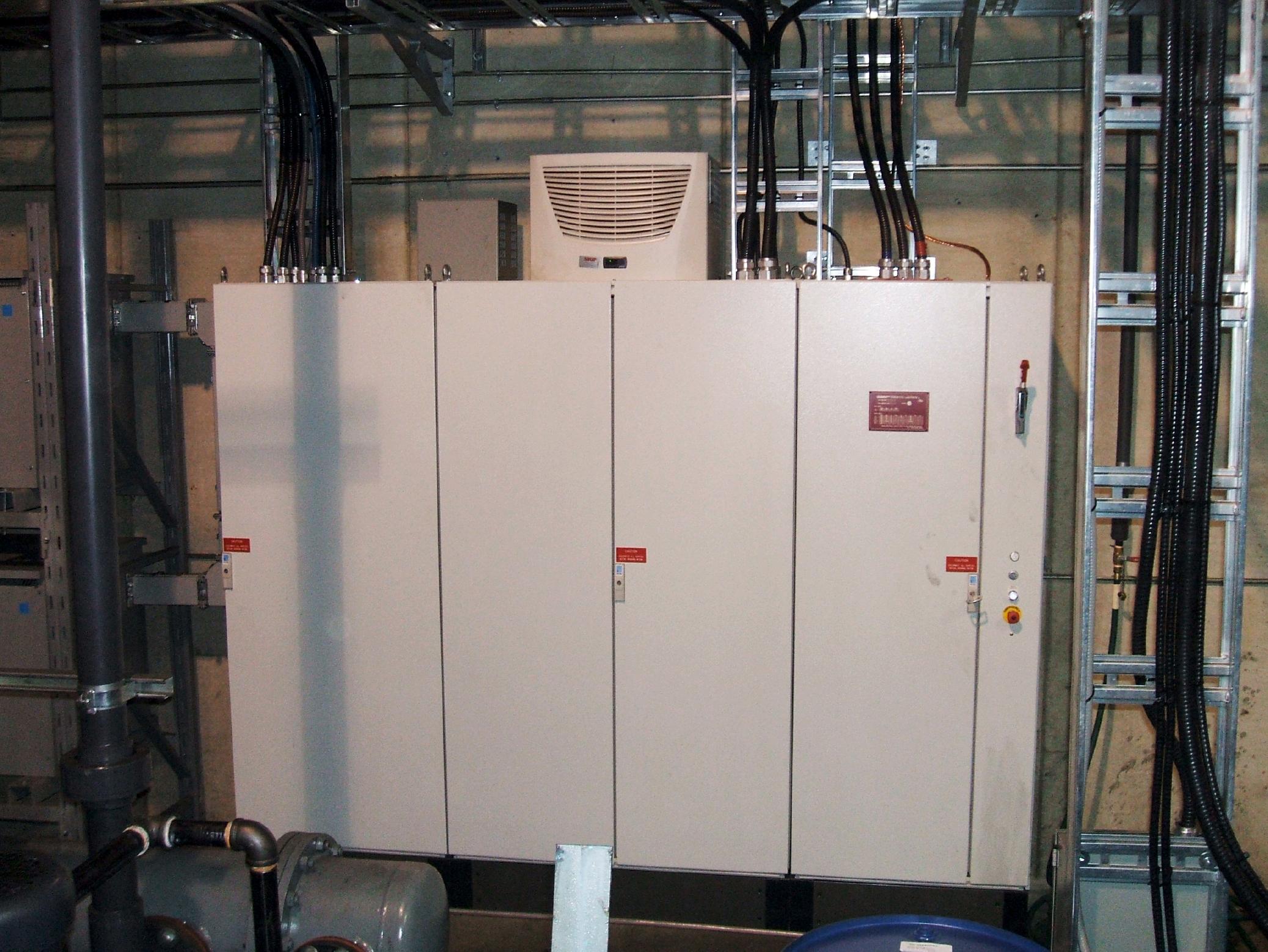 Mill Drive Cabinet Installation DSCF2448