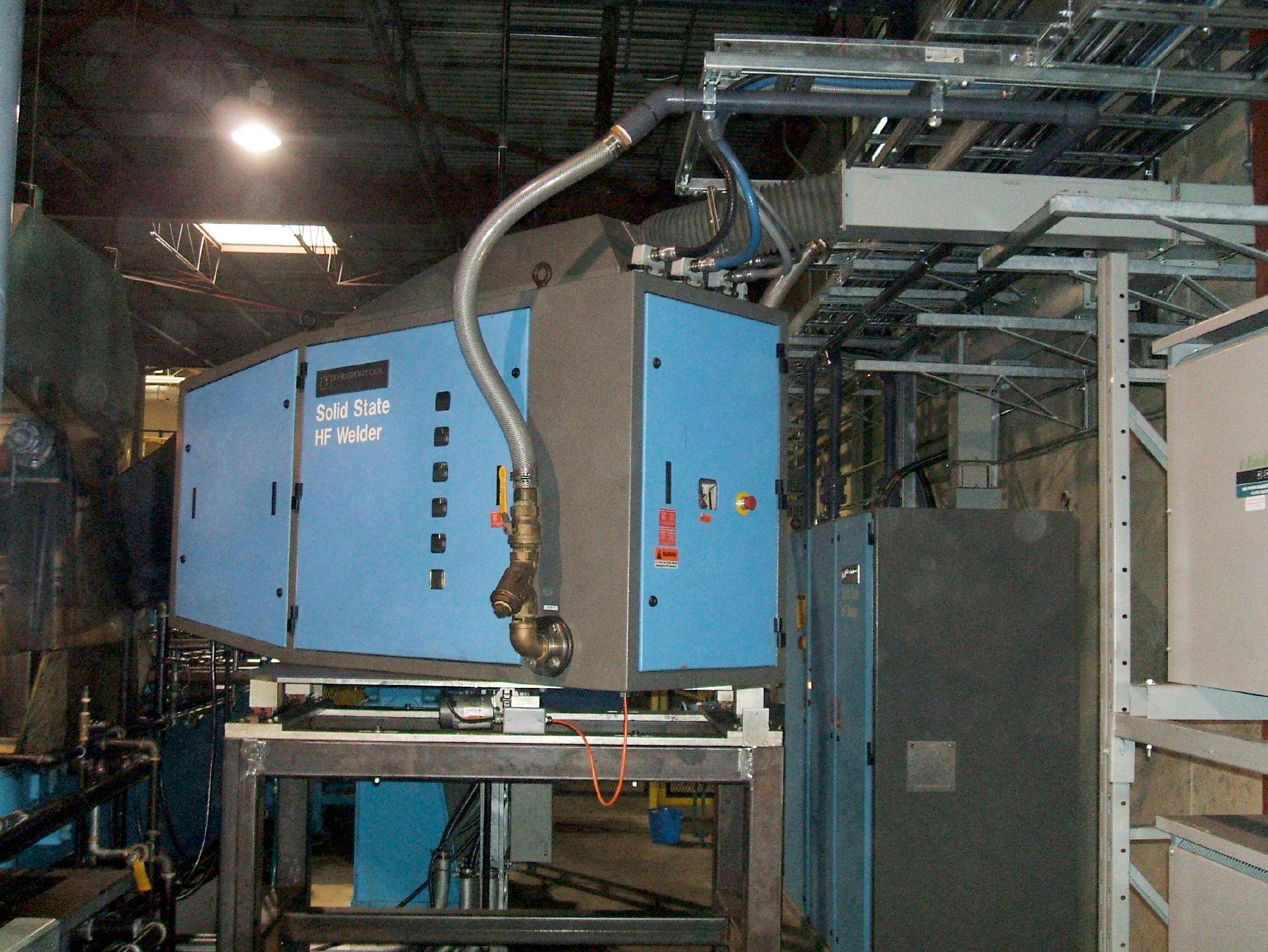 Thermatool CFI HF Welder Installation DSCF2442