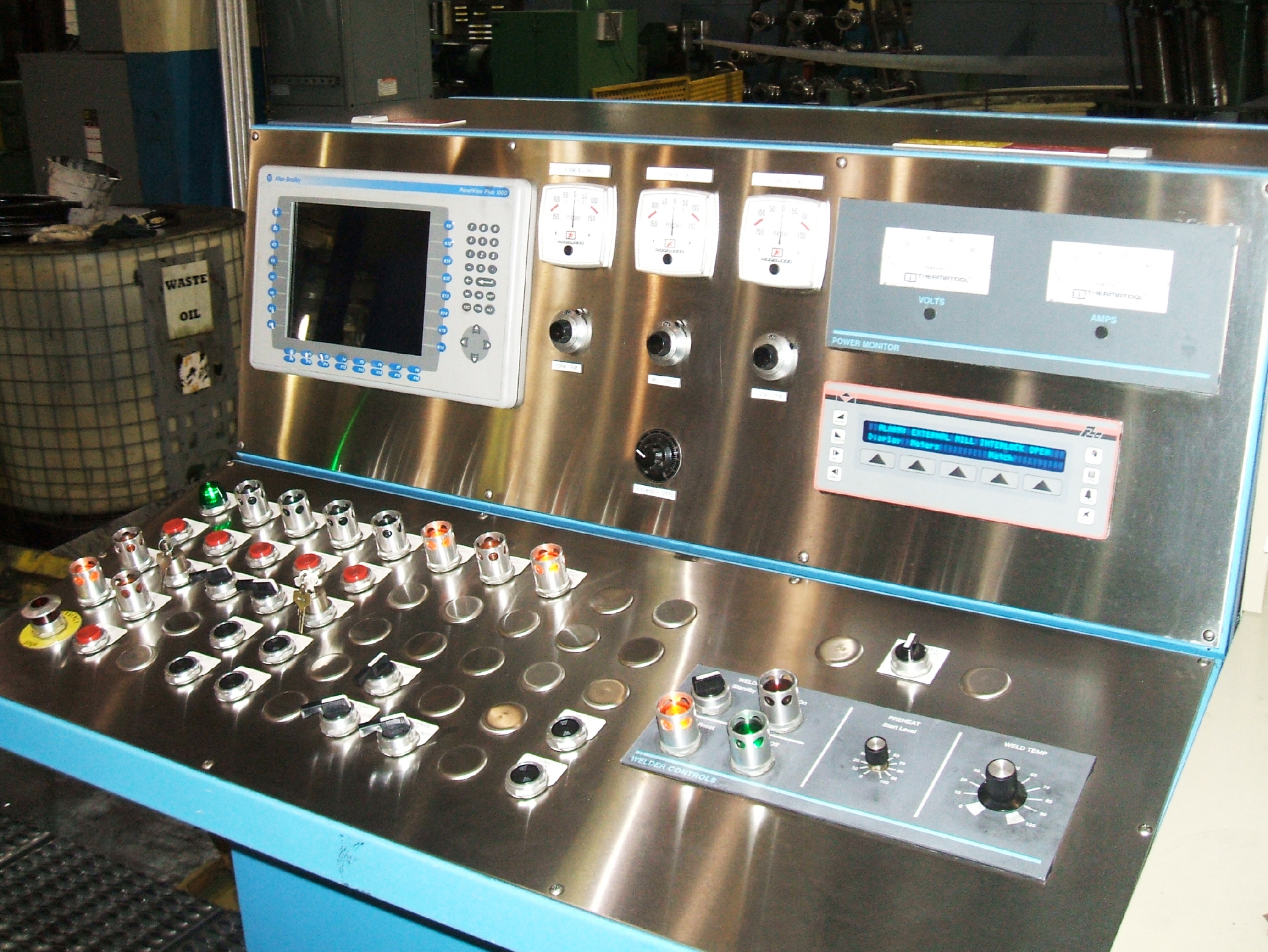 Tube Mill Control Operator Station