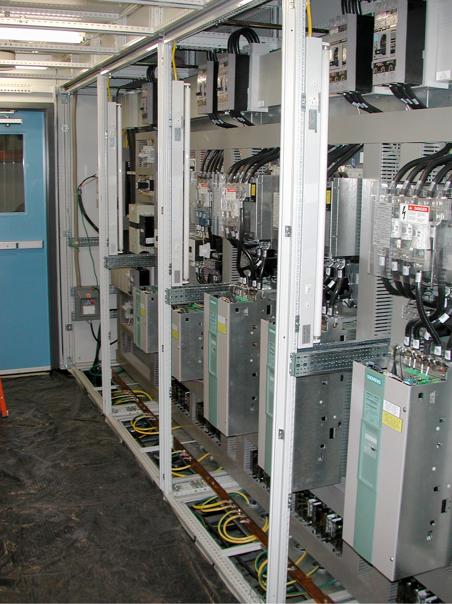 Tube Mill Drive Room DSCN2336-1200Amp Drive control room